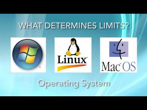 How Much RAM Can My Operating System Handle? - Video