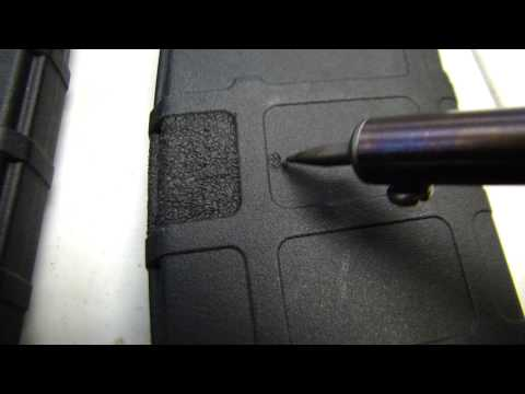 How to stipple pmag and battle mags magazines like a pro