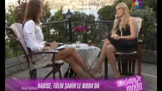Tülin Şahin'le Moda Programında Hadise Röportajı #HPM Resimi