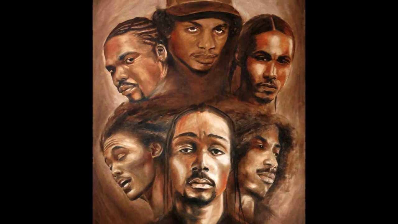 bone thugsnharmony 20th anniversary oil painting
