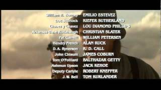 Young Guns 2 Credits Blaze of Glory