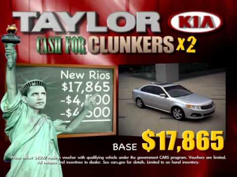 Taylor Kia Commercial Obama