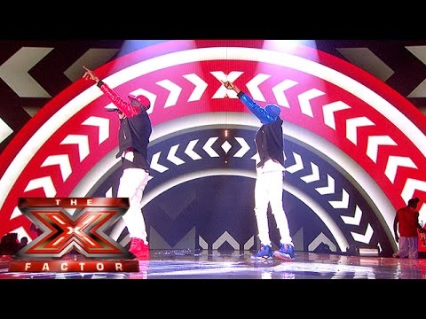 Reggie 'N' Bollie perform their Song of the Series | The Final Results | The X Factor 2015