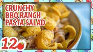 Crunchy BBQ Ranch Pasta Salad