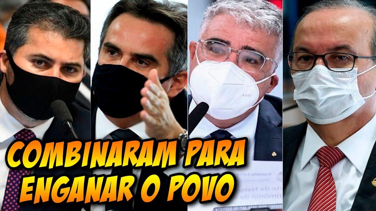 INVESTIGAÇÃO REVELA PLANO com senadores para COMBINAR RESPOSTAS com depoente