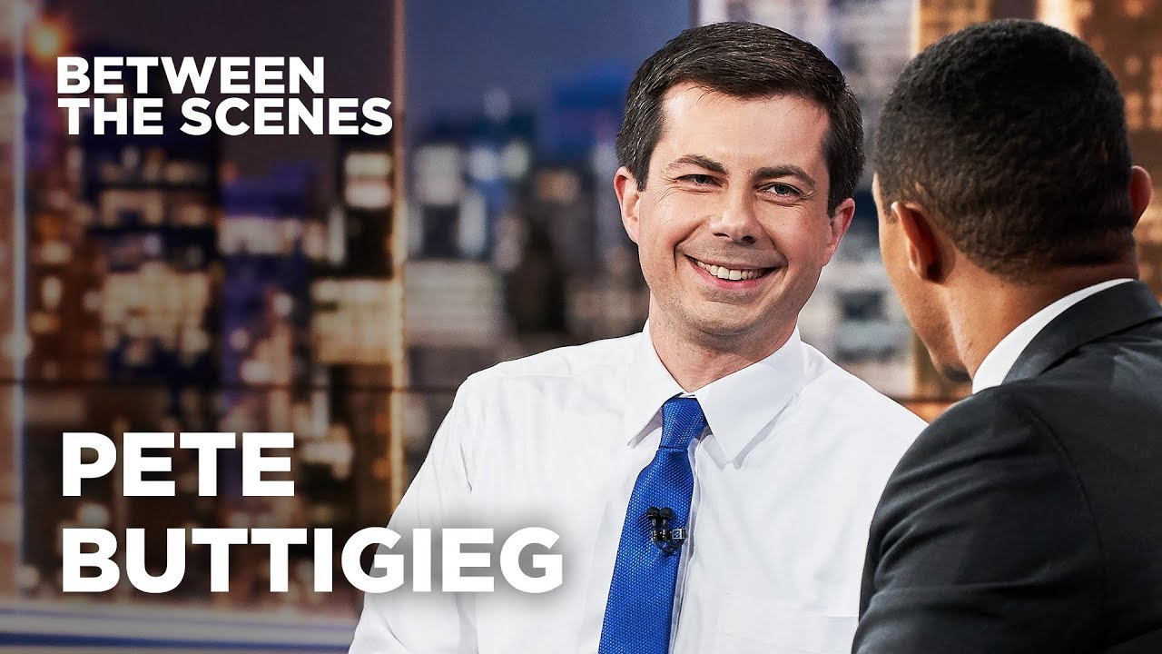 Between the Scenes - Guest Edition: Pete Buttigieg | The Daily Show