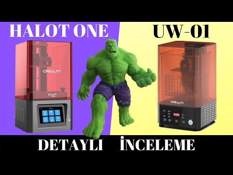Creality HALOT-ONE 3Boyutlu Yazıcı Detaylı İnceleme