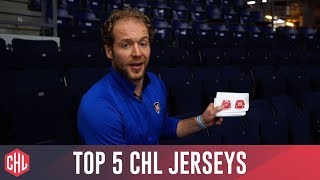 Ben Blood's List Of Top 5 Chl Jerseys!