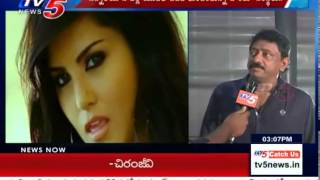 RGV Supports to Sunny Leone | RGV Response on Sunny Leone Case : TV5 News