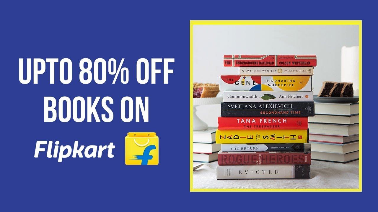 Flipkart Book Sale India 2018 Get Best Discount On Top Selling
