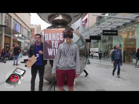 BLINDFOLD DANCE PRANK!