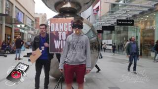 BLINDFOLD DANCE PRANK!