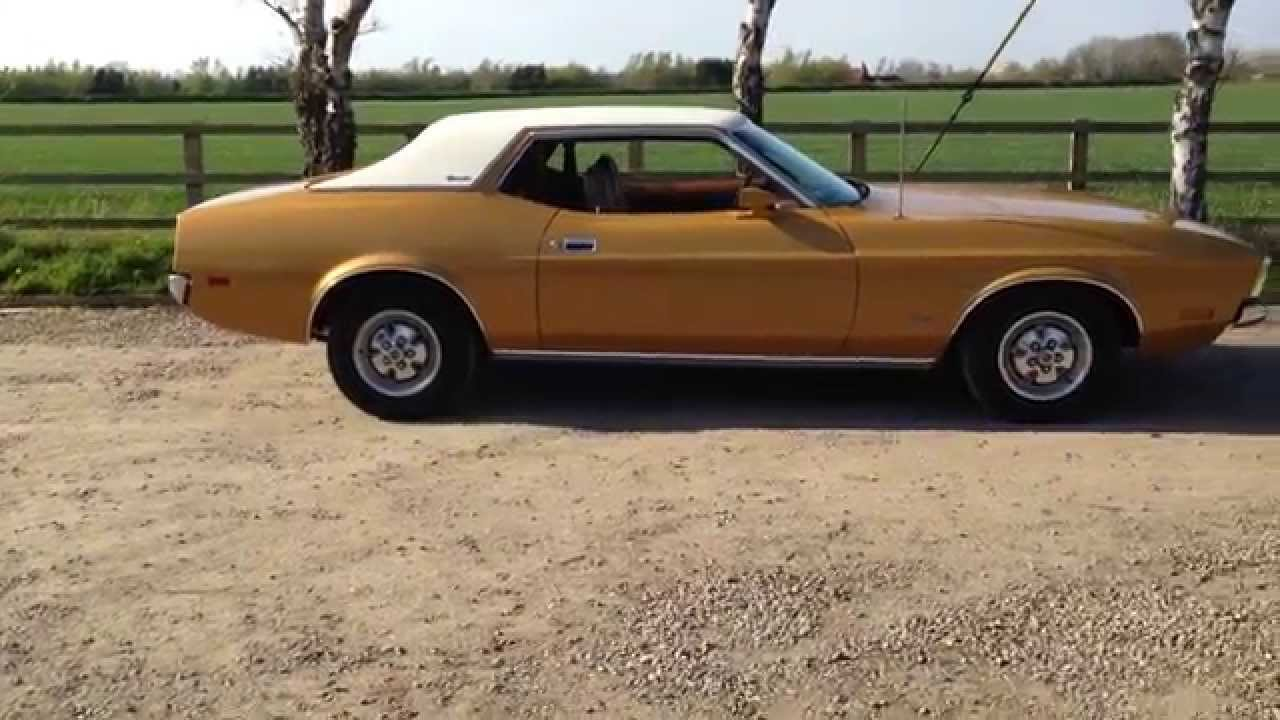 1972 mustang 351 hardtop coupe