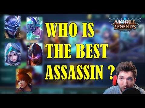 WHO IS THE BEST ASSASSIN IN MOBILE LEGENDS – MY RANKING (Patch 1.1.85))