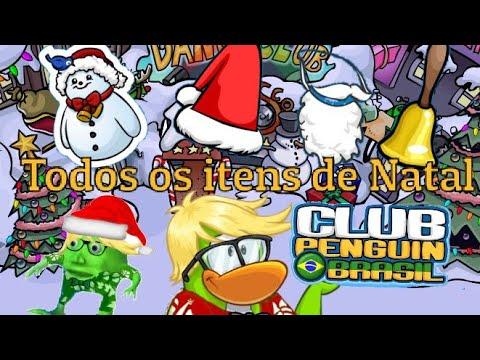 Todos Os Itens Da Festa De Natal + Bonús - Club Penguin Brasil - [Taborda4 Oficial]