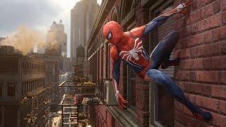 Дебютный трейлер Spider Man 2016(Insomniac Games анонсировали новую игру про Человека-Паука для PlayStation 4., 2016-06-14T03:08:26.000Z)