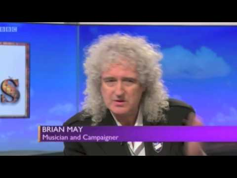 Brian May 'Daily Politics' with Jo Coburn:  Common Decency Launch 24 March 2015