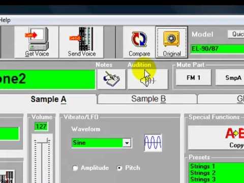 EL Edit | PSR-Magic - Software for PSR-S Digital Workstations