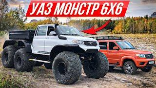 Самый большой УАЗ 6x6 - проедет везде! #ДорогоБогато №62