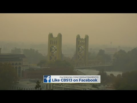 Drifting Smoke Causing Health Concerns in Sacramento