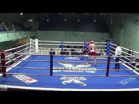4) 54kg Santino ACOSTA (BUE) GP3 Luis BORQUEZ (SGO) - Fuera de Campeonato