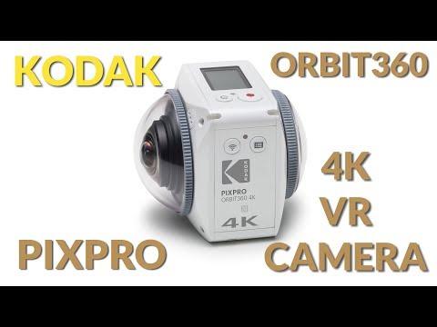 Kodak PixPro Orbit360 VR 4K Camera - Personal View Talks