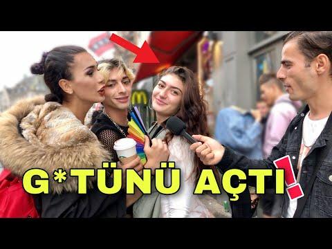 HOLLANDALI KIZLARA TÜRK ERKEKLERİNİ SORDUK !! / Sonunu Kaçırma ! / Sokak Röportajları - Turco