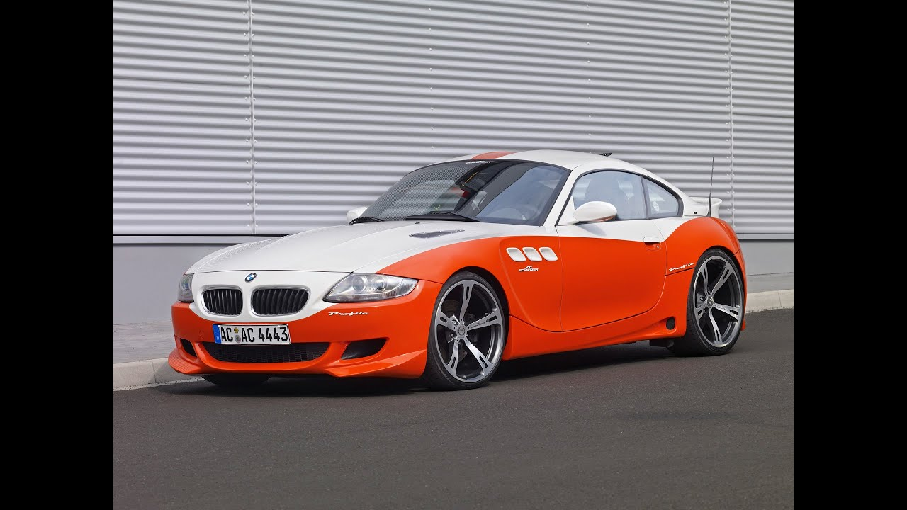 2007 ac schnitzer bmw z4 m coupe profile concept youtube vanachro Images