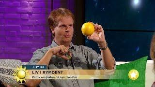 Nyhetsmorgon i TV4 från 2016-08-24: Rymdfysiker Patrik Norqvist om ...