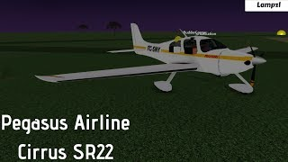 ROBLOX| Pegasus Airline Cirrus SR22 Flight