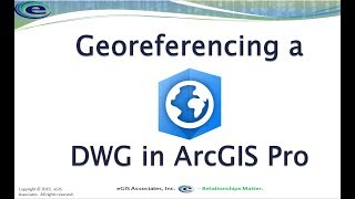Georeferencing a DWG in ArcGIS Pro