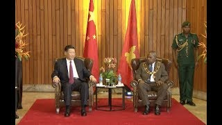 Chinese President Seeks to Boost China PNG Relations with Maiden State Visit