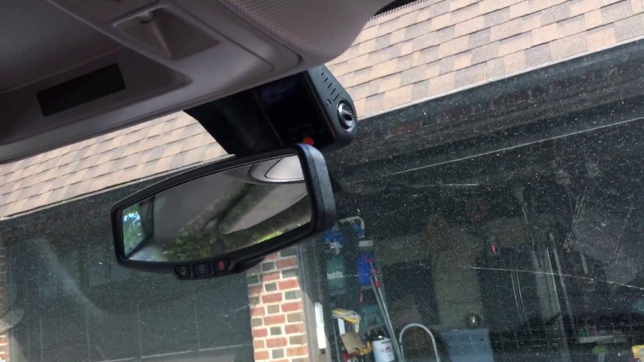 GMC/Chevy Sierra dash cam setup - YouTube