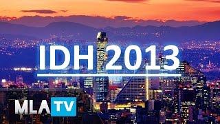 Los 10 países mas desarrollados de América Latina 2013 (IDH)