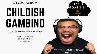 Childish Gambino - 3.15.20 Album - Reaction Review
