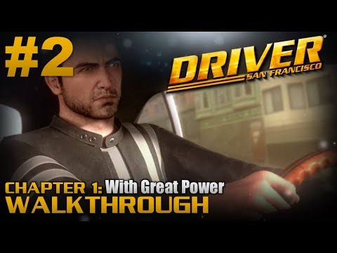 Driver: San Francisco (PC)   Walkthrough Part #2   Chapter 1: With Great Power [HD 60FPS]