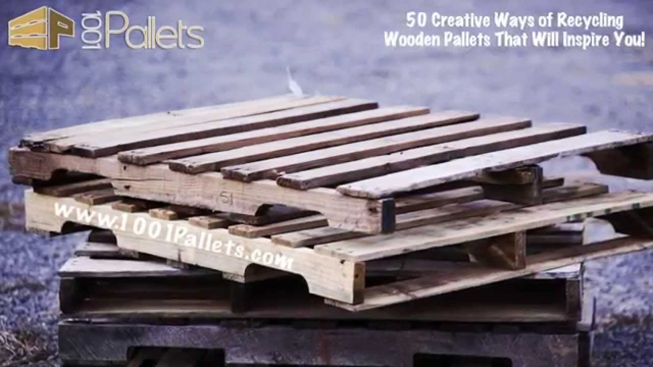 Recycling Wooden Pallets