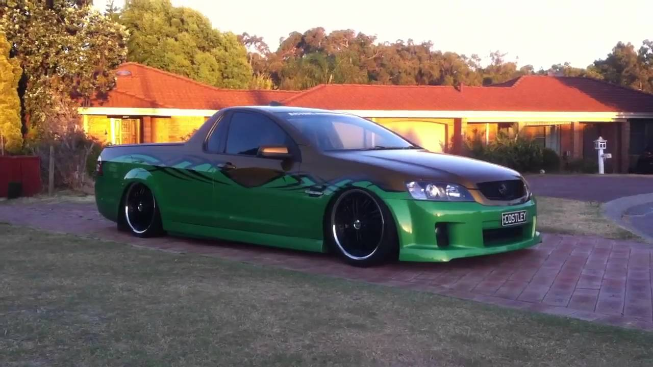 Costley Holden VE SSV Ute Air Bagged