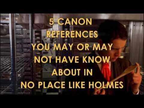 5 Canon References You May or May Not Know about in No Place Like Holmes.