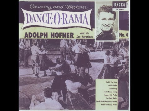 Adolph Hofner & His San Antonians - South Texas Swing  1941