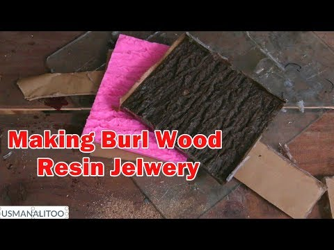 Making Burl Wood For Resin Jewelry Part 1