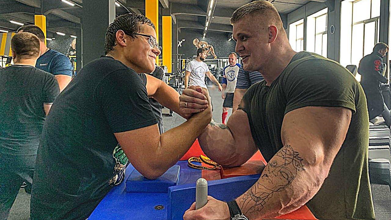 Schoolboy VS Mutant | ARM WRESTLING TRAINING 2019