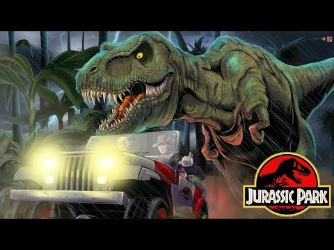The Alternate Sequel to Jurassic Park - Jurassic Park InGen