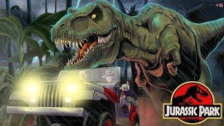 The Alternate Sequel to Jurassic Park - Jurassic Park InGen