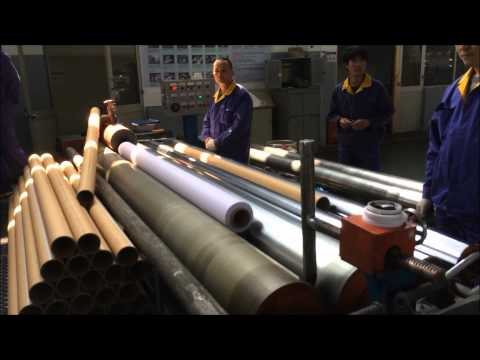 Production of Banner PVC for large format printing
