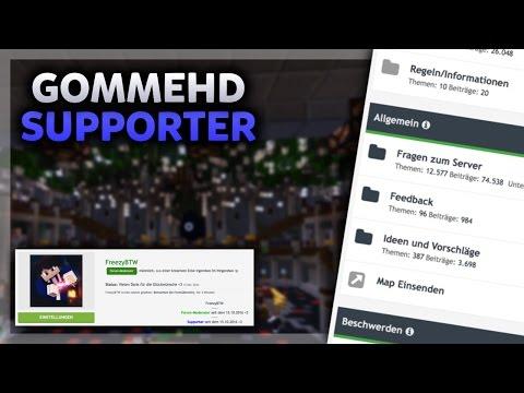 FORUM-MODERATOR BEI GOMMEHD | MC Bedwars