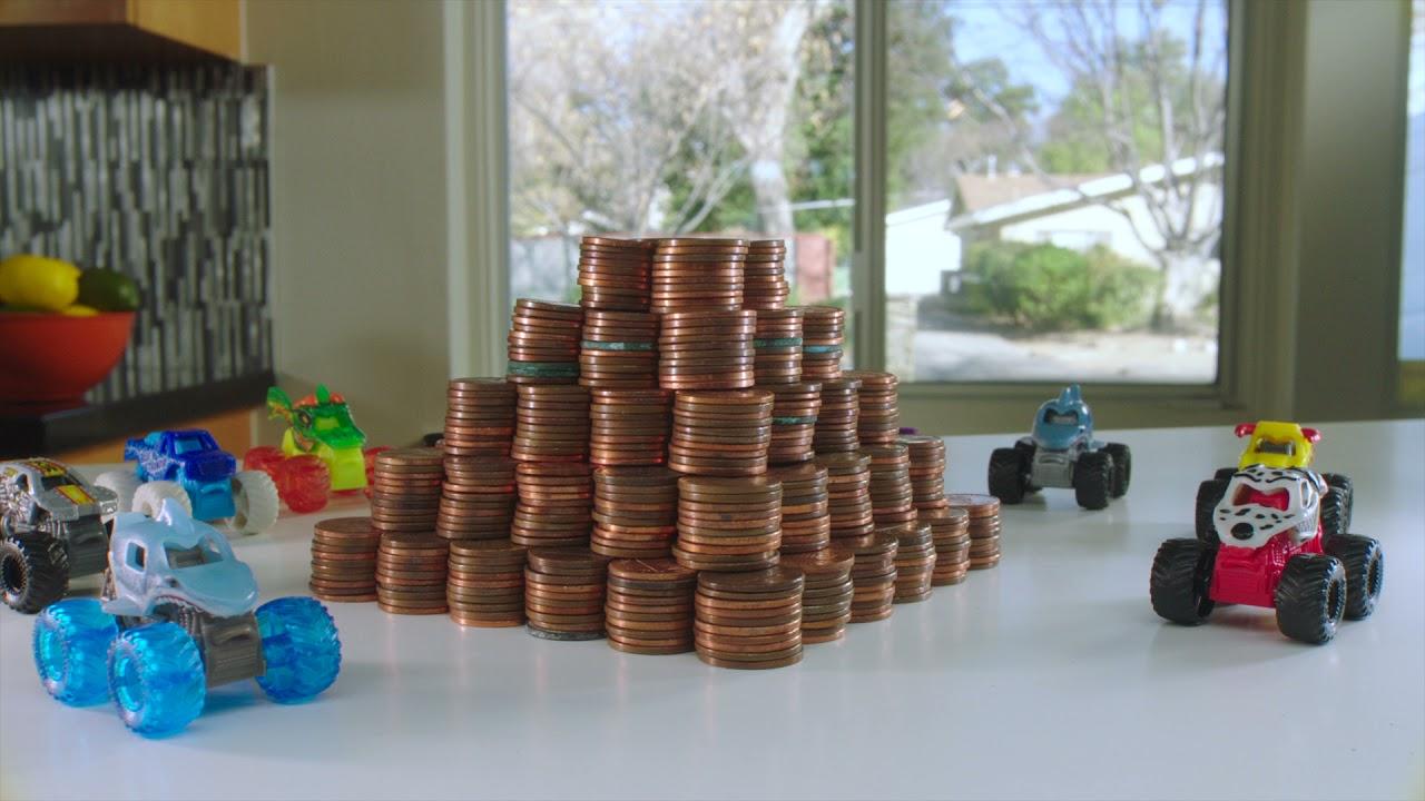 Monster Jam Mini Series - Penny Pile-Up