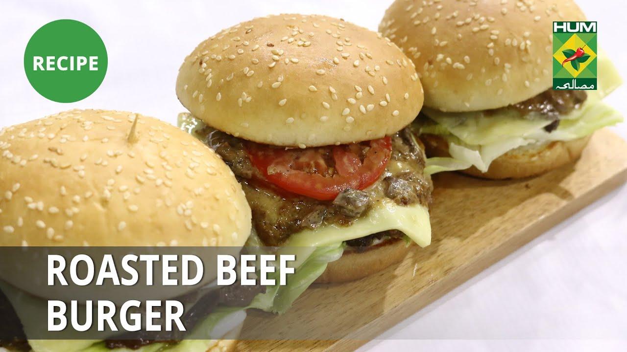 Roasted Beef Burger Rice Recipe | Flame On Hai | Fast Food