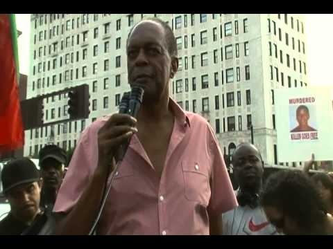 Radio Personality Bob Law Speaks at Trayvon Martin Rally in Harlem