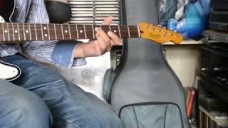 "Fender Classic vibe Squier Telecaster custom ""blue moon""."